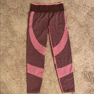 NWOT PINK Seamless Tights/Leggings